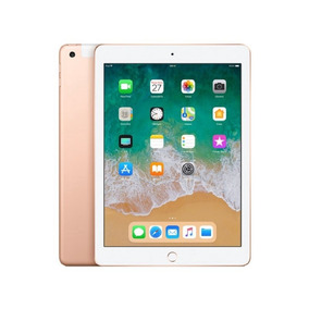 iPad 32gb Wifi + Cellular Tela 9.7 Dourado (2018) Mrm02cl