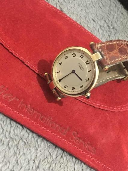 Relógio Cartier Must Vermeil Original