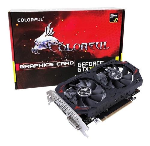 Imagen 1 de 8 de Placa De Video Colorful Geforce Gtx 1050ti 4gb Ddr5