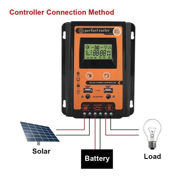 Controlador De Carga Mppt 70 A Para Energia Solar
