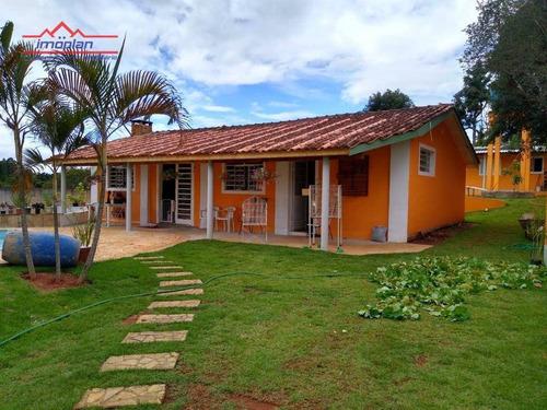 Chácara À Venda, 2500 M² Por R$ 1.150.000,00 - Jardim Estância Brasil - Atibaia/sp - Ch0187