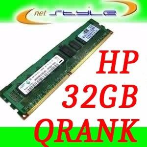 32gb Ddr4 2133mhz Qrank Pc4-17000 P/ Hp Proliant Dl120 G9
