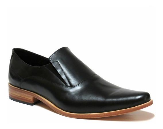Zapatos Hombre Cuero Suela Elastico Free Comfort 46/50 11001