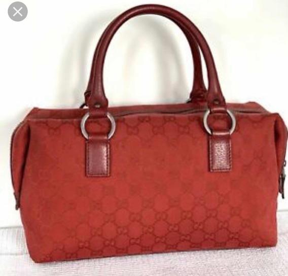 Bolsa Gucci Original Boston Red Mini