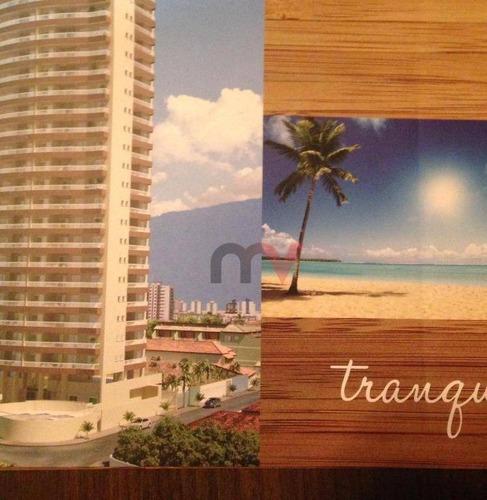 Apartamento Em Construção Com 2 Dormitórios À Venda, 77 M² Por R$ 290.000 - Maracanã - Praia Grande/sp - Ap1120