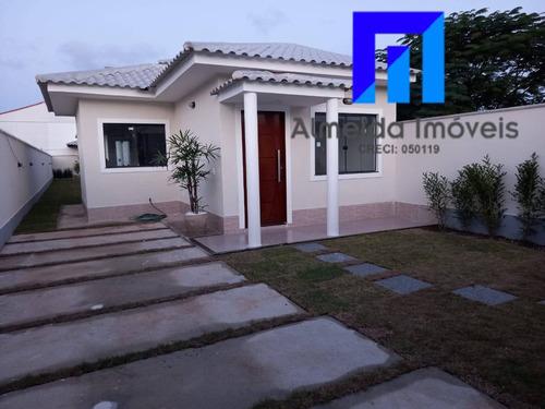 Imagem 1 de 15 de Linda Casa Com 3 Qts Em Itaipuaçu!!! - 1247