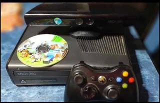 Xbox 360 + Kinect + Minecraft