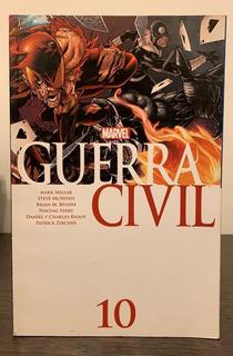Comics Guerra Civil Marvel Nro 10