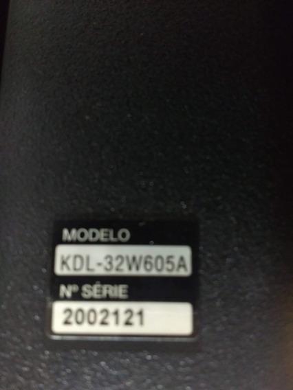 Tv Sony Led Kdl32w605a Imagem Fantasma