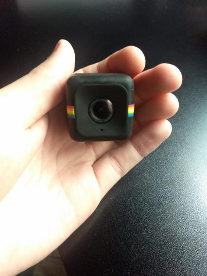 Polaroid Cube + Acessórios + Cartão Microsd 32gb