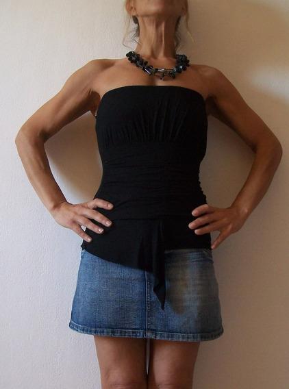 Remera Strapples Vestir Modal Elastizado Talle 38 Usada