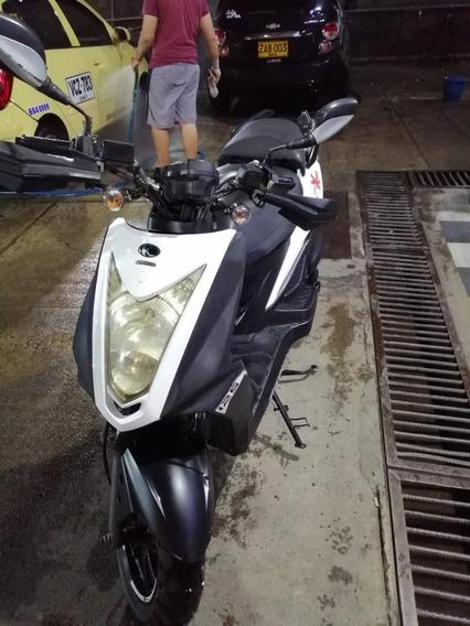 Moto Kymco Agility Xtreme 125 Modelo 2015 Blanco Infinito