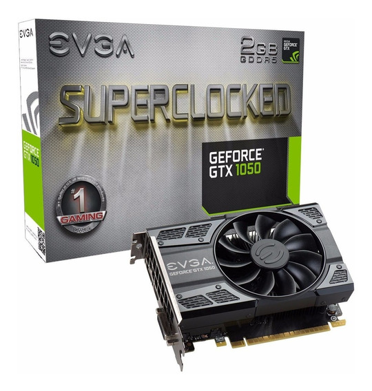 Placa Video Gamer Geforce Gtx 1050 2gb Evga Hdmi - U S A