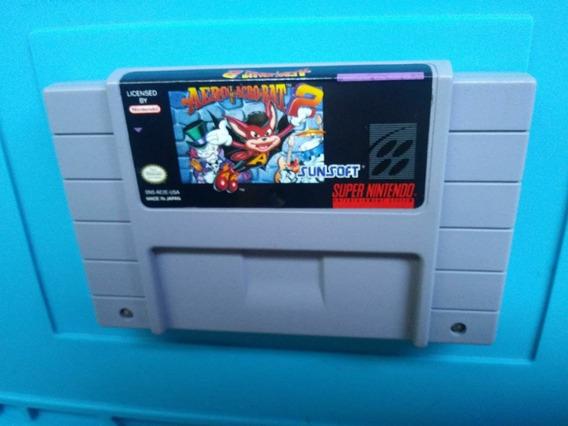 Jogo Aero Acrobat Ii 2 Snes Super Nintendo Original