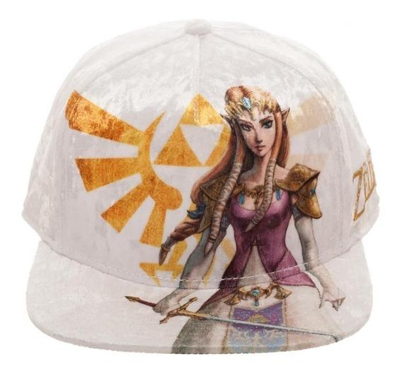 Nintendo Legend Of Zelda Princesa Zelda Gorra Envío Express