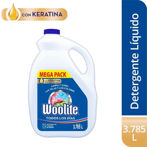 Imagen 1 de 5 de Woolite Detergente Liquido Todos Los Di - L a $8221