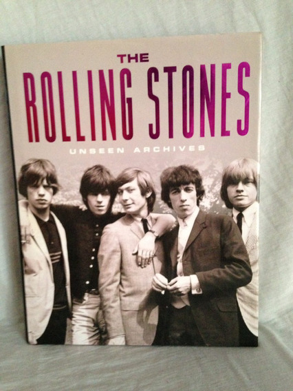Rolling Stones - Livro - The Unseen Archives