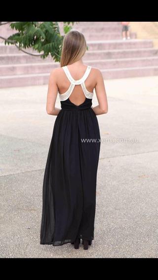 Hermoso Vestido De Fiesta Largo S Y M
