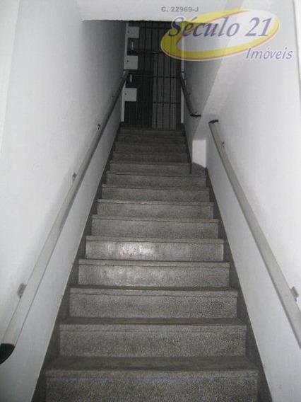 Sala Comercial Para Locação, Centro, São Vicente. - Sa0229