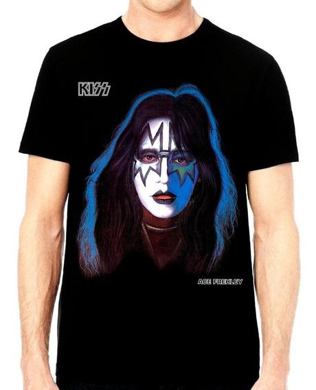 Playera Kiss Ace Frehley Solo Album $250