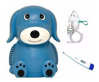 Nebulizador Pediatrico + Mascarilla Obsequio Termometro