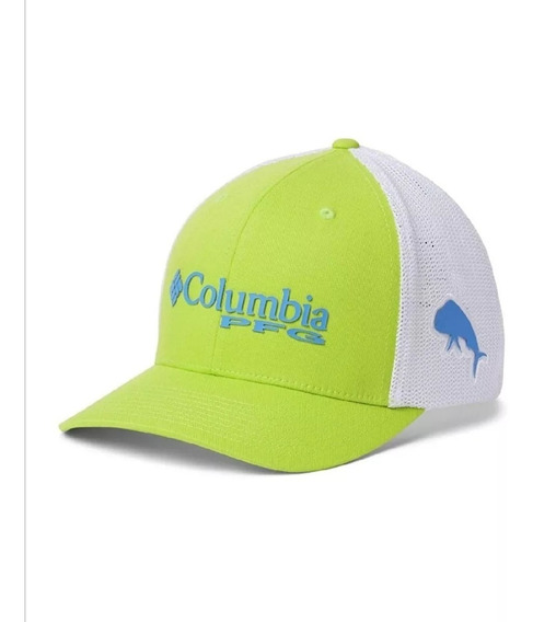 Columbia Mesh Ball Green Gorra Pesca S/m