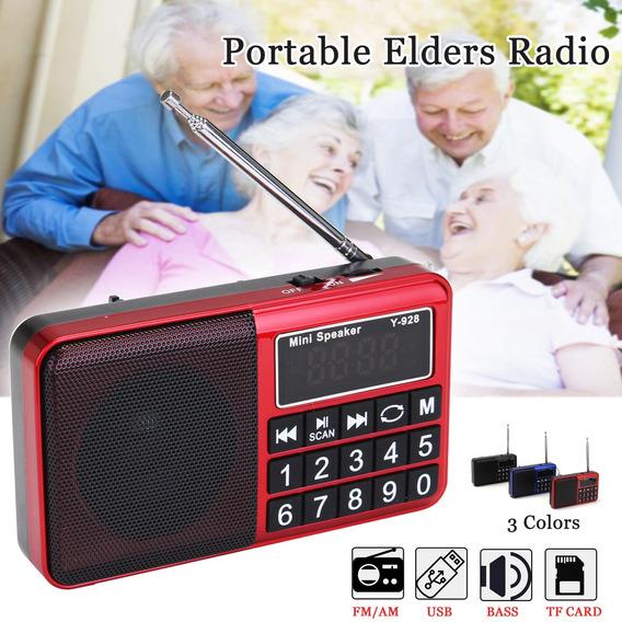 Portátil Bolso Digital Lcd Am Fm Recebedor Rádio Alto-falant