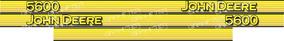 Adesivo Personalizar Trator John Deere 5600
