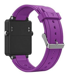 Para Garmin Vivoactive Relógio Inteligente Silicone Watch Ba