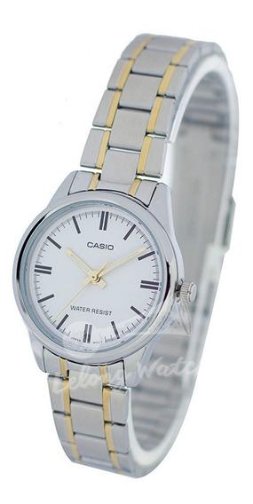 Relógio Casio Unissex Vintage -ltpv005sg- Original -s Caixa