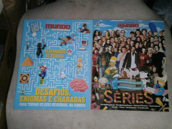 Mundo Estranho - Pacote Com 6 Revistas Por R$ 30,00