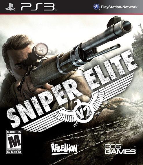 Jogo Sniper Elite - V2 (novo) Ps3