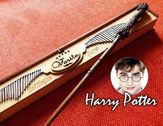 Varita Harry Potter (ron, Hermione...) C/estuche Regalo