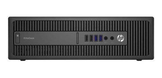 Cpu Hp Elitedesk 800 G2 Core I5 6ªg Ssd 120gb 8gb Ram Wifi