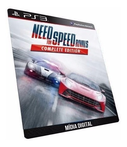 Need For Speed Rivals Complet Edition Jogo Ps3 Psn