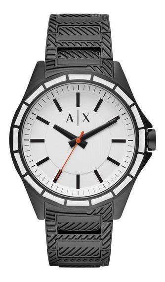 Relógio Masculino Armani Exchange Drexler Preto - Original
