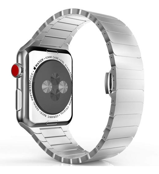 Banda Correa Extensible Metálica Apple Iwatch De 38/40mm