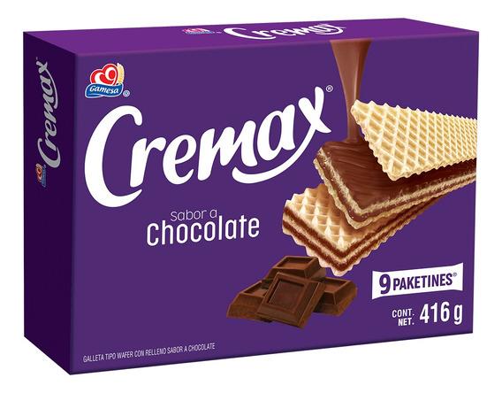 Galletas Cremax Sabor Chocolate 416gr