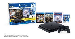 Ps4 Mega Pakc 6 1tb Dg+gta+fort + Ds