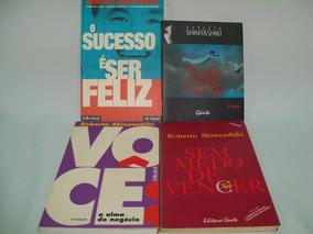 Roberto Shinyashiki Lote Com 4 Livros