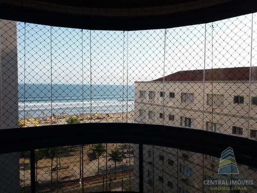 Apartamento Com 3 Dorms, Canto Do Forte, Praia Grande - R$ 690 Mil, Cod: 8457 - V8457
