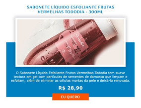 Sabonete Líquido Esfoliante