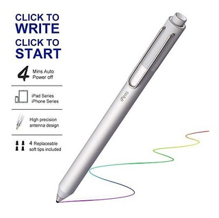 Ipens X1 Active Stylus Pen, iPad Pencil Touch Pen, Pluma