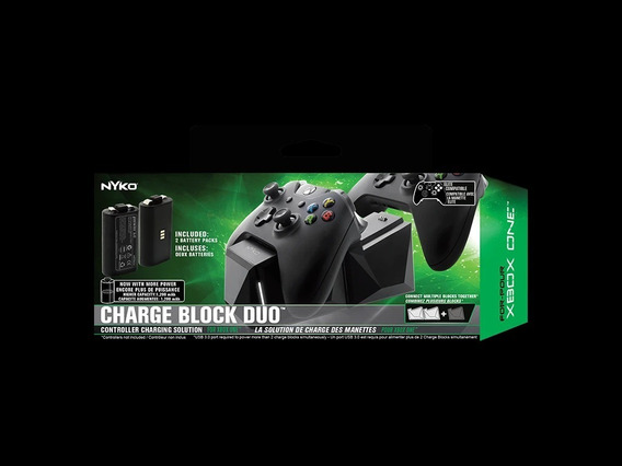 Nyko Charge Block Duo Para Uso Com O Xbox One