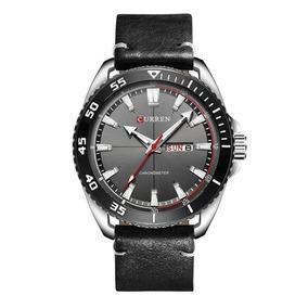 Relógio Masculino Esportivo Curren 8272 Pulseira Couro