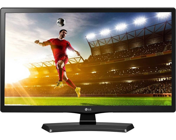 Tv Led Lg Hd 19,5 Pol 20mt49df-ps Conversor Digital