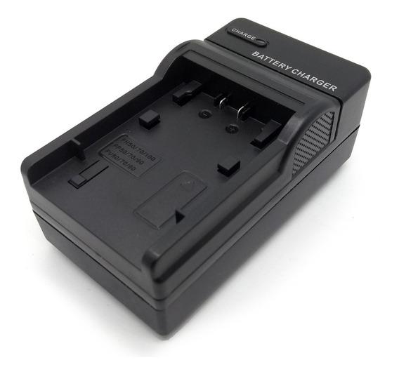 Carregador - Bateria Sony Np-fp50 Np-fh50 Np-fh70 Fv50 Fv100