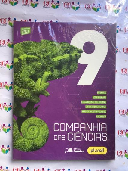 Livro Novo Companhia Das Ciencias - 9º Ano -4ªed. 2019(bncc)