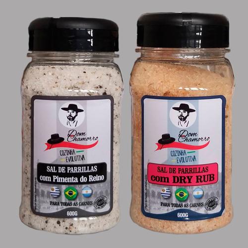 Kit Sal De Parrilla Dry Rub E Pimenta Do Reino Dom Chamoro
