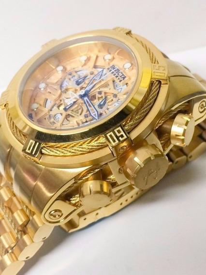 Relógio Kkw5689 Invicta 12763 Bolt Zeus Dourado Promocional